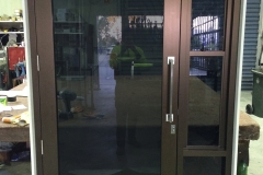 Commercial Entry Door with Double Hung Side Light